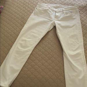 Seven Jeans. White!